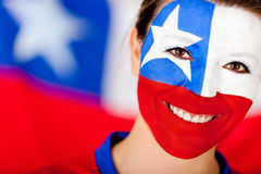 Chilean woman Royalty Free Stock Image