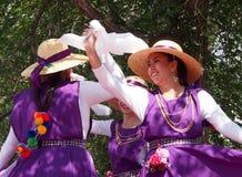 Chileense Dansers bij de Erfenisdagen 2013 van Edmonton Stock Foto's