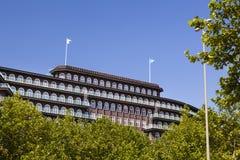 Chilehaus στο Αμβούργο, Γερμανία Στοκ Φωτογραφίες