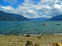 Chilenaresouthland kust Royaltyfri Foto