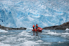 Chilenische Gletscher Lizenzfreies Stockbild