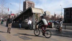 Chilenische U-Bahn stock footage