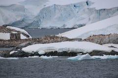Chilenischer Vorposten in der Antarktis Stockfotografie