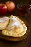 Chileno Apple Empanada Imagenes de archivo