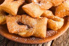 Chileno Calzones Rotos Fried Pastries fotos de stock royalty free