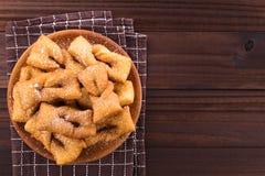 Chileno Calzones Rotos Fried Pastries imagens de stock