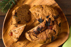 Chileno Pan de Pascua Christmas Cake Foto de archivo