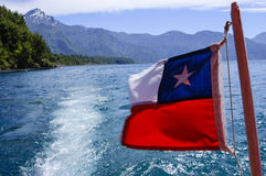 Chilensk flagga Royaltyfri Foto