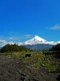 Chilensk stor vulcano royaltyfri bild