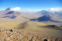 Chilensk vulkan Royaltyfri Fotografi