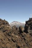 Chilensk vulkan Arkivfoto