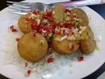 Chiles del queso de soja Imagen de archivo