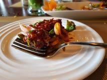 Chiles deliciosos del pollo foto de archivo libre de regalías