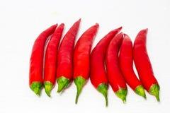 Chiles rojos Imagenes de archivo