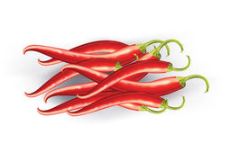 Chiles rojos libre illustration