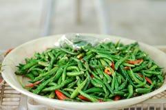 Chiles verdes Fotografía de archivo