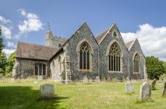 Chilham Church, Kent, UK Royalty Free Stock Photo