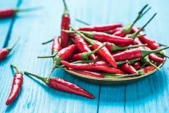 Chili горячих и специи красный pepers Стоковые Изображения
