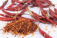 Chili и порошок chili Стоковые Изображения