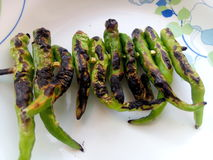 Chili приготовления на гриле Стоковое Изображение RF
