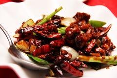 chili цыпленка сухой Стоковые Фотографии RF