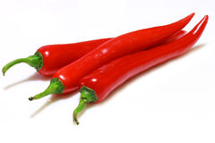 красный цвет chili Стоковые Изображения RF