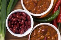 chili 3 домодельный Стоковые Фото
