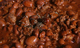 Chili. With Beans Royalty Free Stock Photography