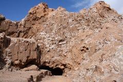Chili, Atacama-Woestijn, Maanvallei & x28; Valle DE La Luna& x29; stock afbeeldingen