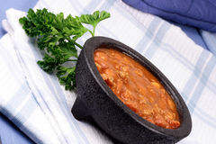 Chili beans Royalty Free Stock Images