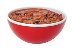 Chili with Beans Royalty Free Stock Photography