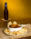 Chili and Beer Stock Photography