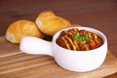 Chili bowl Stock Photography