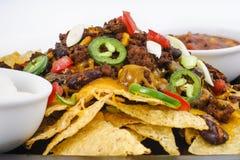 Chili-Cheese Nacho Snack Stock Photography