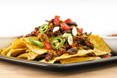 Chili-Cheese Nacho Snack Stock Images