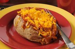 Chili cheese potato Royalty Free Stock Photography