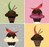 Chili Chocolate royalty free stock image