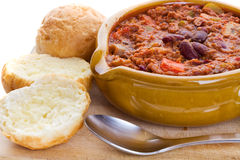Chili con carne Stockfoto