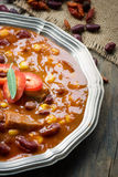 Chili con carne Lizenzfreie Stockfotos