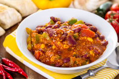 Chili con carne Stockbild
