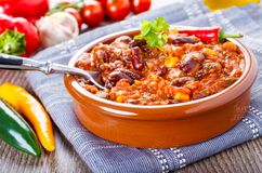 Chili con carne Stock Foto