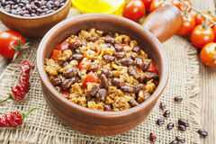 Chili con carne imagem de stock royalty free