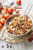 Chili con carne fotografia de stock royalty free