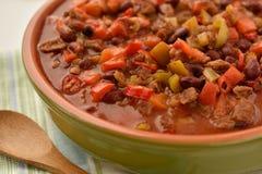 Chili con carne stock afbeeldingen
