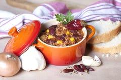 Chili con carne Immagini Stock