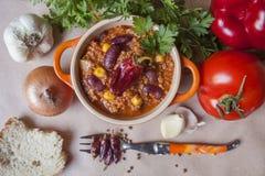 Chili con carne Lizenzfreies Stockfoto