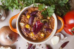 Chili con carne Image stock
