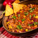 Chili con carne Royalty-vrije Stock Fotografie