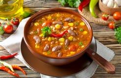 Chili con carne Immagine Stock Libera da Diritti