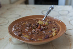 Chili con carne fotografia de stock royalty free